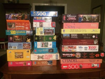 Lots of puzzles