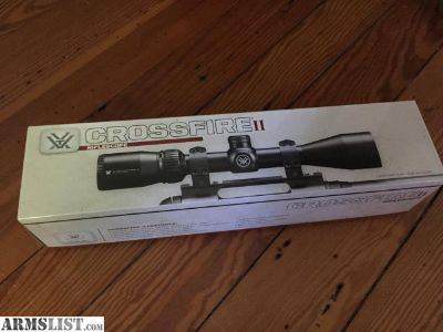 For Sale/Trade: Vortex Crossfire II 4-12 x 44 Dead-Hold BDC Scope