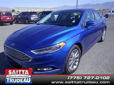 2017 Ford Fusion SE (Blue)