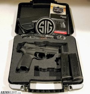 For Sale: Sig Sauer P320C with Night Sights - 9mm