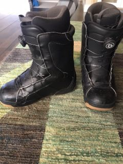 DC Snowboard boots Size 9