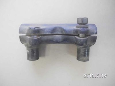 Purchase Antique OEM Harley Handlebar Clamp For 60-78 FL motorcycle in Evans City, Pennsylvania, US, for US $35.00