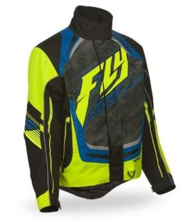 Purchase FLY Racing SNX High Performance 2016 Youth Snowmobile Jacket Black/Hi-Vis Yellow motorcycle in Holland, Michigan, United States, for US $161.96