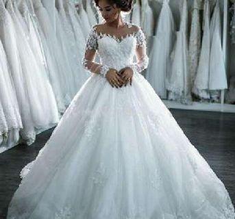 Beaded Dubai Gown