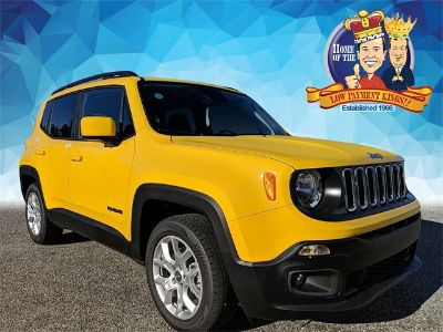 2018 Jeep Renegade (Solar Yellow)