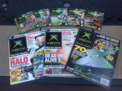 X-BOX: Original demo disks and magazines for sale!