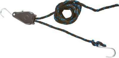 """Buy 10' ROPE RATCHET TIE DOWN-3/8"""" ROPE-BOAT-KAYAK-CANOE RATCHET PULLEY (SP-250) motorcycle in West Bend, Wisconsin, US, for US $15.36"""