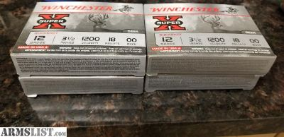For Sale: Winchester 12 GA 00 Buckshot 3.5in chamber