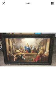 """Large frame for canvas 40"""" by 25"""" (approx.)"""