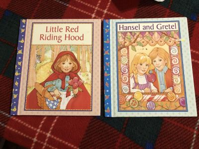 Brand New 2 Hardcover Books. Little Red Riding Hood- Hansel And Gretel. Perfect Stocking Stuffer