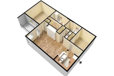 2 bedrooms Apartment - LIVE IN THE HEART OF DOWNTOWN JUST STEPS AWAY FROM SHOPPING. Washer/Dryer Hoo