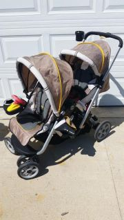 Jeep Traveler Double Stroller