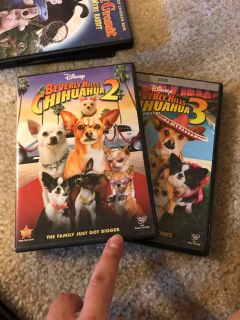 Beverly Hills Chihuahua 2 & 3 DVDs