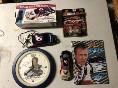 34 Different Mark Martin #6 Items