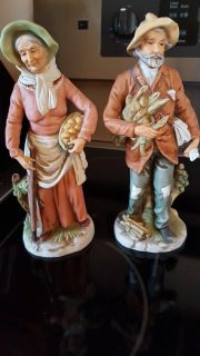 Home Interiors Farmers figurines