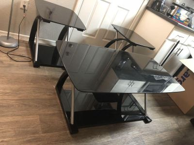 Coffee table set and tv stand