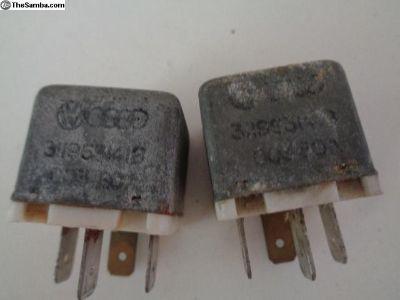 Jetta Rabbit Main Current 4 Pin Relay 311963141B