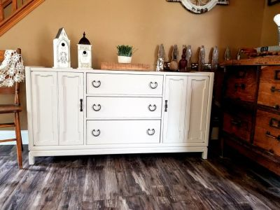 Refinished Buffet / TV Console