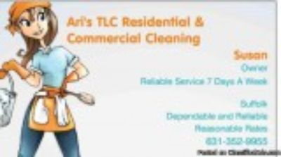 Ari s TLC Residential and Commercial cleaning