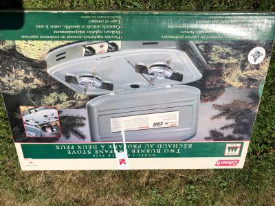 Twice used Propane stove for sale