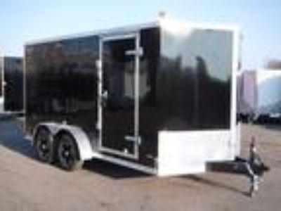"2019 RC Trailers 7x14TA Enclosed 6'6"" Int Cargo - Black"