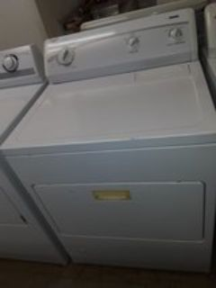 Kenmore washer and gas dryer heavy duty extra large capacity