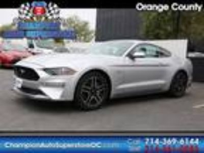 Used 2018 Ford Mustang Silver, 25.7K miles