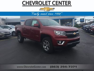 2018 Chevrolet Colorado 2WD Z71 (Cajun Red Tintcoat)