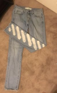 Virgil abloh off white jeans in nearly perfect condition