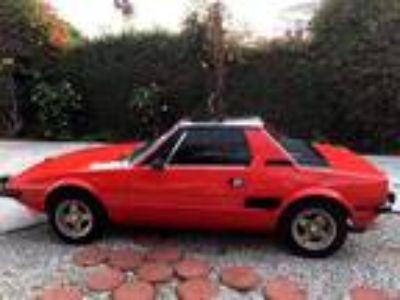 1974 Fiat X1/9 1300cc Bertone