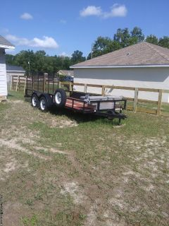 Landscaping trailer good condition