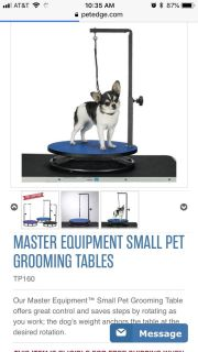 Small Pet Grooming Table in Black NEW IN BOX