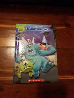 """NEW """"Monsters, Inc."""" Book"""