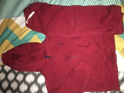 Toddler polo sweatsuit
