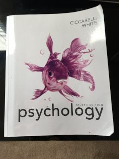 Psychology Book Fourth Edition