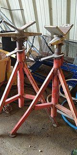 rigid pipe stand
