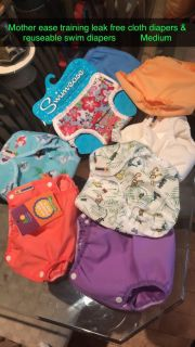 Brand new cloth diapers & reusable swim diapers