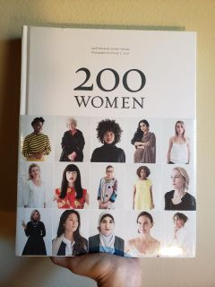 $50 New giftable in cellophane plastic wrap 200 Women a big beautiful coffee table book so nice! I have two of these left.