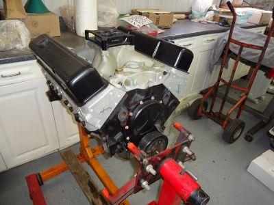 SBC 360 CID Pro Street engine