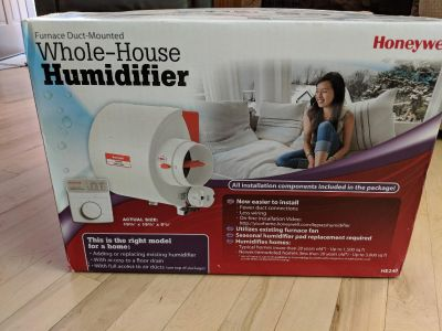 Honeywell HE240 Whole House Bypass Humidifier