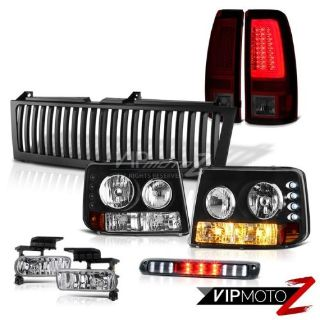 Sell 99-02 Silverado WT Tail Brake Lamps Vertical Grille 3rd Lamp Fog Lamps Tron Tube motorcycle in Walnut, California, United States, for US $408.04
