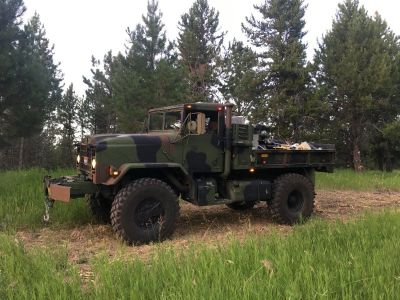 BMY 5 ton, Military Truck Bobbed 4X4