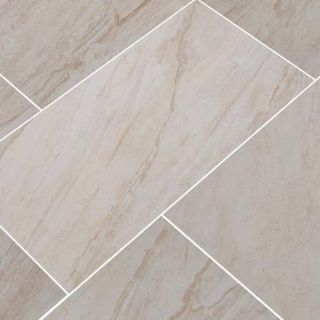 """12"""" x 24"""" Glazed Ceramic Floor and Wall Tile - 160 Square Feet"""