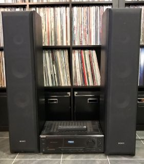 Sony Stereo Receiver and Speakers