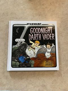 Star Wars Good Night Darth Vader Hardback book New condition.
