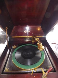 Antique Edison A250 Diamond Disc Phonograph Record Player Sounds Great