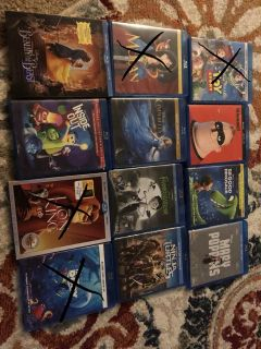 Tons of blu Ray movies