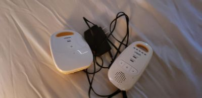 Corded/battery baby monitor