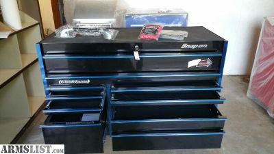 For Sale: Snap On KRL722BPLSX Double Bank 11 Drawer Master Series Roll Cab NEW UNUSED