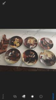 Norman Rockwell Limited Ed Plates-6
